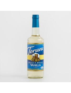 Sugar Free Torani Vanilla Syrup by World Market