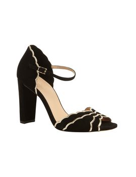 Katy Suede Heeled Sandals by Phase Eight