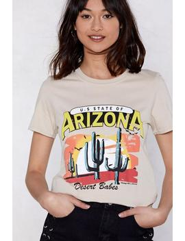 Arizona Relaxed Tee by Nasty Gal