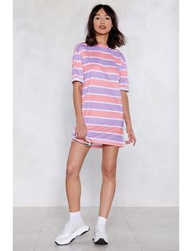 You're On The Right Lines Striped Dress by Nasty Gal