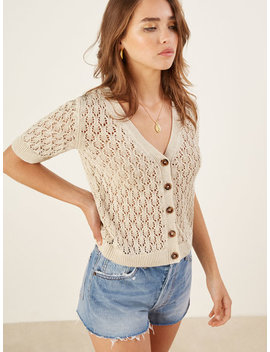 Pansy Cardigan by Reformation