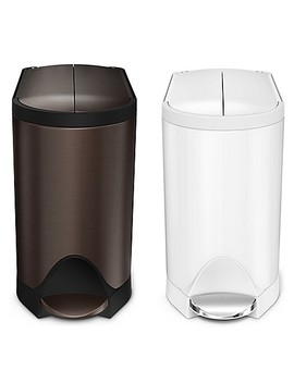 Simplehuman® 10 Liter Butterfly Step Trash Can by Bed Bath And Beyond