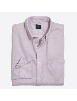 Slim Fit Washed Shirt In End On End Cotton by J.Crew