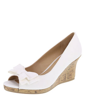 Women's Cate Bow Wedge by Learn About The Branddexflex Comfort