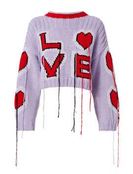 Love Crop Sweater by Philosophy Di Lorenzo Serafini