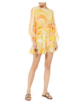 Tie Back Coverup Dress by Emilio Pucci