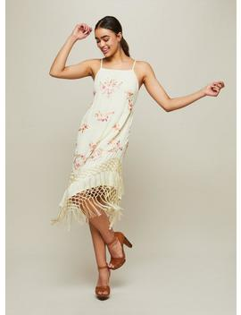 Embroidered Tassel Camisole Dress by Miss Selfridge