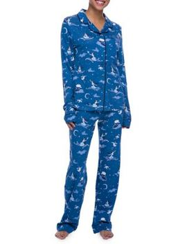Mommy & Me Pajamas Women's Jasmine Pajamas Set by Munki Munki