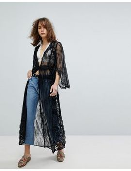 Free People – Chelsea – Spitzenkimono by Free People