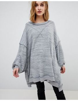 Free People – So Fresh – Oversize Oberteil by Free People