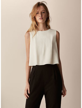 Zweifarbiger Overall by Massimo Dutti