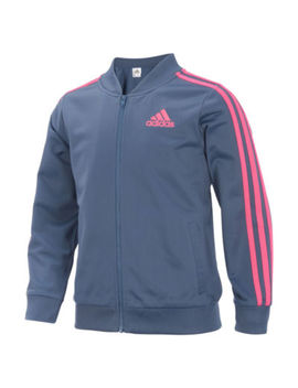 Adidas Girls Lightweight Bomber Jacket   Big Kid by Adidas