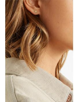 Lace Deco Vi 14 Karat Gold Earrings by Grace Lee
