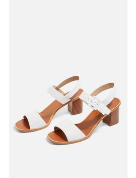 Clean Buckle Sandals by Topshop