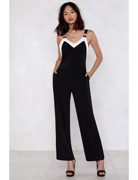 Contrast Go O Ring Jumpsuit by Nasty Gal