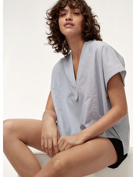 V Neck Blouse by Community