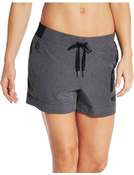 Calia By Carrie Underwood Women's Anywhere Cuff Heather Shorts by Calia By Carrie Underwood