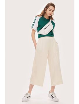Cropped Ribbed Trousers By Adidas Originals by Topshop