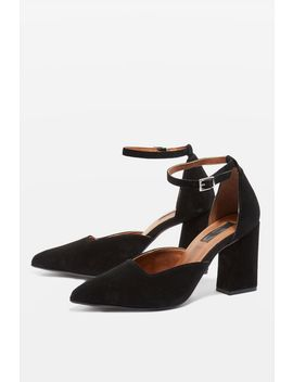 Two Part Heeled Court Shoes by Topshop