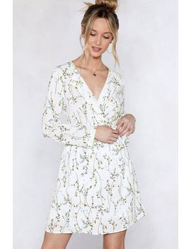 Spring Back Floral Dress by Nasty Gal