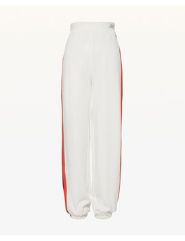 Jxjc Thin Juicy Logo Rainbow Stripe Terry Pant by Juicy Couture