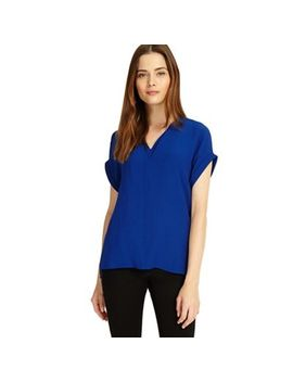 Phase Eight   Cobalt Vivian V Neck Blouse by Phase Eight