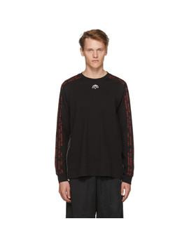 Black Long Sleeve Aw T Shirt by Adidas Originals By Alexander Wang
