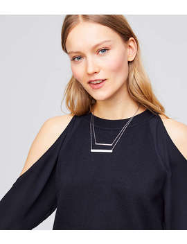 Layered Bar Necklace by Loft