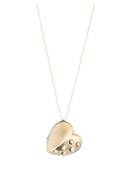 "Grater Heart Pendant Necklace, 16"" by Alexis Bittar"