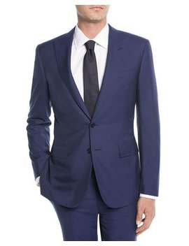 Men's Lux Plainweave Two Piece Suit by Ralph Lauren