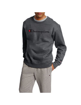 Champion Long Sleeve Crew Neck T Shirt by Champion