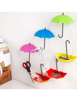Set Of 3: Umbrella Wall Hooks by Home Simply