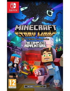 Minecraft Story Mode: The Complete Adventure (Nintendo Switch) by Amazon