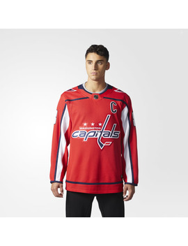 Capitals Home Authentic Pro Jersey by Adidas
