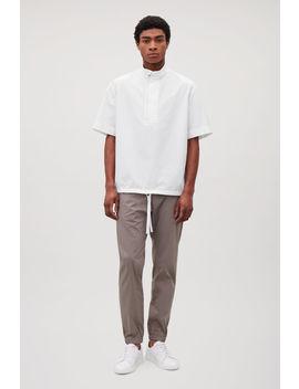 Drawstring Short Sleeved Shirt by Cos