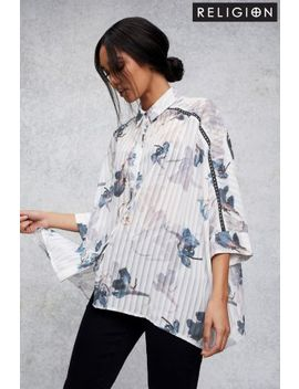 Religion Floral Print Shirt by Next