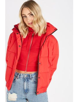 Oversized Puffer Jacket by Cotton On