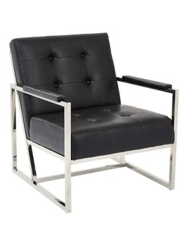 Black Nathan Chair by Pier1 Imports