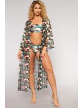 Sargent Nova Sunkini Set   Camo by Fashion Nova