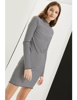 Tall Lettuce Edge Bodycon Dress by Topshop