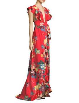 Janna Hi Lo Maxi Dress by Alexis