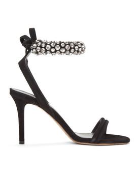 Black Alrin Sandals by Isabel Marant