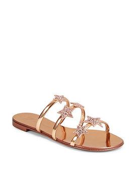 Anya Star Sandals by Giuseppe Zanotti