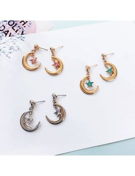 Moon Star Earring by Siatra