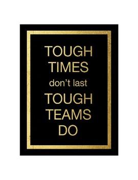 Tough Team By Victoria Brown Unframed Wall Art Print by Art.Com