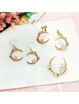 Moon Drop Earring by Teeny Trendy