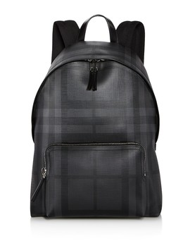Smoke Check Abbeydale Backpack by Burberry