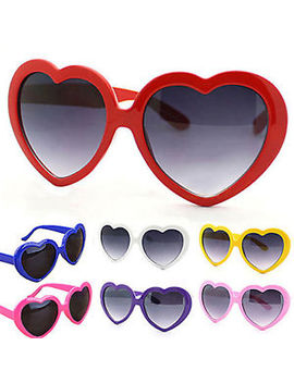 Fashion Funny Summer Love Heart Shaped Lolita Sunglasses Sun Glasses Trendy Gt by Unbranded