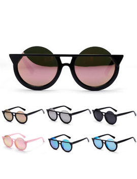Women's Retro Cat Eye Sunglasses Classic Vintage Fashion Shades Eyewear Bd by Unbranded