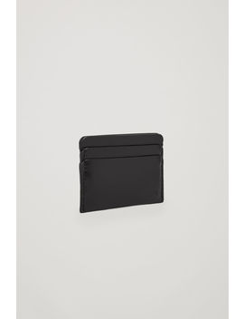 Round Edged Leather Cardholder by Cos